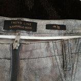 джинсы бренд накат серебро