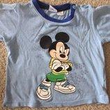 Футболка Disney Микки Маус 1,5-2 года