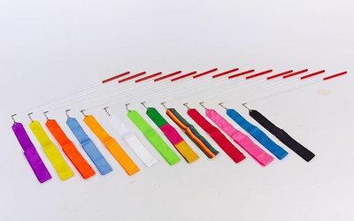 Лента для художественной гимнастики 5516 длина 6м, 10 цветов