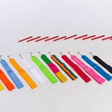 Лента для художественной гимнастики 3248 длина 6,3м, 13 цветов
