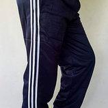 спортивные штаны батал в бедрах от 110 и до 140см