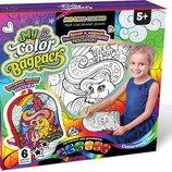 Рюкзак-Раскраска/антистресс My Color BagPack Набор для творчества Danko Toys Рюкзак пони Данко тойс