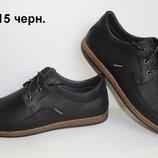 Туфли мужские кожаныеClubShoesтри цвета
