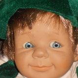 шикарная коллекционная большая характерная кукла Falca Испания оригинал клеймо 47 см