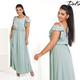 Платье лёгкое 42-60 р-р
