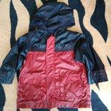 Стильная куртка-ветровка next hm rebel M&S на 1-1,5 года в отличном состоянии