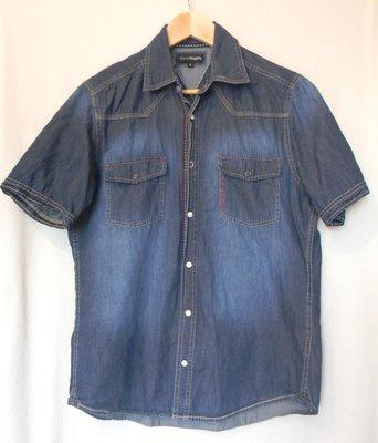 Муж.джинсовая рубашка Charles Voegele р.S