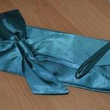 Клатч атласный, клатч, клатч с ремешком, клатч с бантом, сумка маленькая, кошелёк, атласная сумочка
