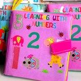 Книжка шуршалка, развивающие книжечки,развивающие игрушки для малышей