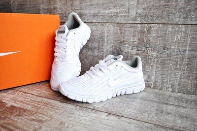 d92013a71ea7ee Подростковые кроссовки NIKE Free Run 3.0 белые: 730 грн - детская ...