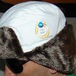 Спортивная олимпийская зимняя шапочка шапка Бельгия .Procter&Gamble.57-59