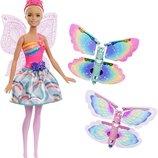 Barbie Барби Фея Волшебные крылья Dreamtopia Rainbow Cove Flying Wings Fairy Doll