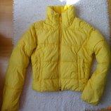 Теплая куртка на S, небольшую M