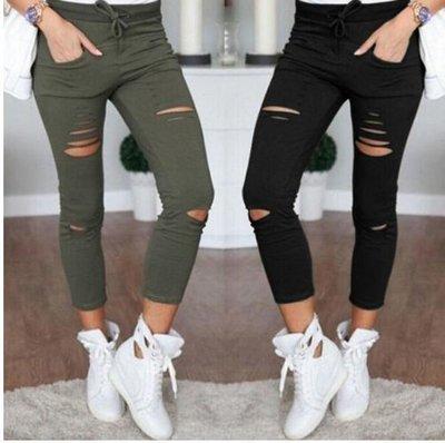 0c38ec8be31 джинсы женские рваные Хит года бойфренды штаны брюки женские лосины ...