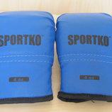 Перчатки боксерские, для таеквондо Sportko 4 унции