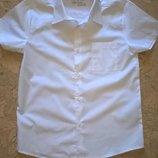 Рубашка белая с коротким рукавом для мальчика Smart Start