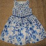 платье нарядное Некст Сток 4года большой выбор одежды 1-16лет