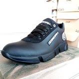 Кроссовки мужские кожаные Jordan 40 -45 р-р