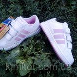 Детские белые кроссовки для девочки Walker с 31 по 36 размер