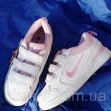 Детские белые кроссовки для девочек 31-37 р