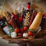 Мужской букет, пивной букет, букет из фруктов, подарок, женщине, мужчине, оригинально