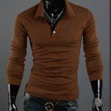 Свитшот мужской, кофта гармоничный коричневый цвет M-XXXL код 41