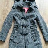 Поделиться Пальто шерстяное дафлкот