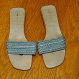 Шльопанці легкі голубі розмір 41 стелька 26,8 см George