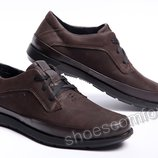 Кожаные туфли Tommy Hilfiger Brown