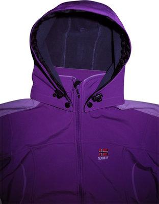 Женская куртка сочная SOFTSHELL JACKET NORWAY L