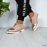 Стильные замшевые Туфли с ремешком 36-40р
