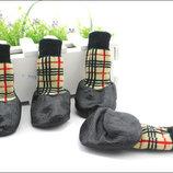 Прорезиненные носки для собак -Налапники для собак. Обувь для собак.
