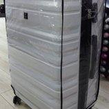 Защитный чехол для чемодана прозрачный из винила XS, S, M, L, XL, XXL