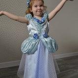 Прокат карнавальный костюм принцесса,попелюшка,золушка тновогодние,на утренник