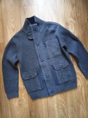 Вязаный кардиган, кофта, свитер, куртка, ветровка Next на 5 лет