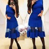 Платье 42,44,46 размеры 4 цвета