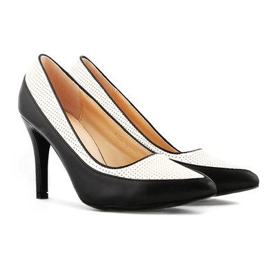 36,37,39,40, Туфли на каблуке. Vices, Польша, стелька кожа, лодочки, классика, женские туфли. черные