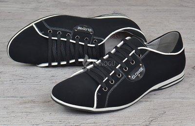 Туфли кожаные Комфорт мужские на шнуровке черные 39-40р