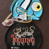 шапочка и очки в бассейн