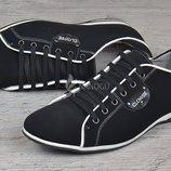 Туфли кожаные Комфорт мужские на шнуровке черные 39-40-41р