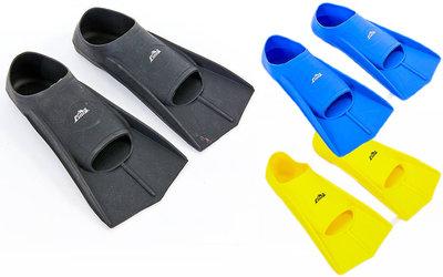 Ласты тренировочные с закрытой пяткой Sima 7035 калоша цельная размер 30-41, 3 цвета