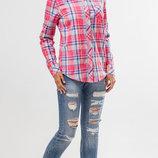 Рубашка в клетку, клетчатая рубашка, блузка