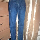 Фірмові джинси-boyfriend George, 16р, Китай.