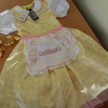 платье карнавальное 7-8 л 122-128 см goldilocks George Джорж золотовласка
