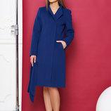 Изумительное кашемировое пальто на весну А710, р.42-50 яркие цвета