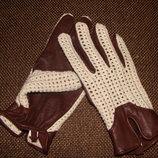 женские перчатки кожа и текстиль М идеал Louis Vuitton Burberry Gucci