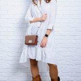 Изумительное женское платье-рубашка 42-60р