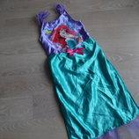 Платье девочке 5-6 лет Disney Дисней Русалка оригинал фирменное