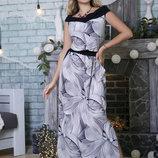 Летнее платье 46,48,50,52,54 размеры