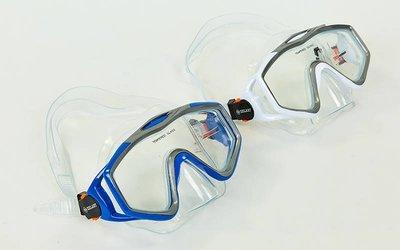 Маска для плавания Zelart M153-PVC термостекло, PVC, пластик